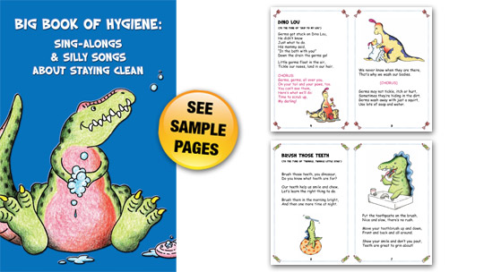 Big Book of Hygiene: Sing-Alongs & Silly Songs about Staying Clean