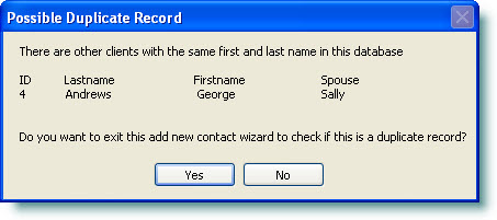 add a contact wizard