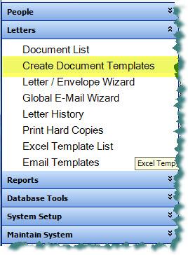 Creating Document Templates
