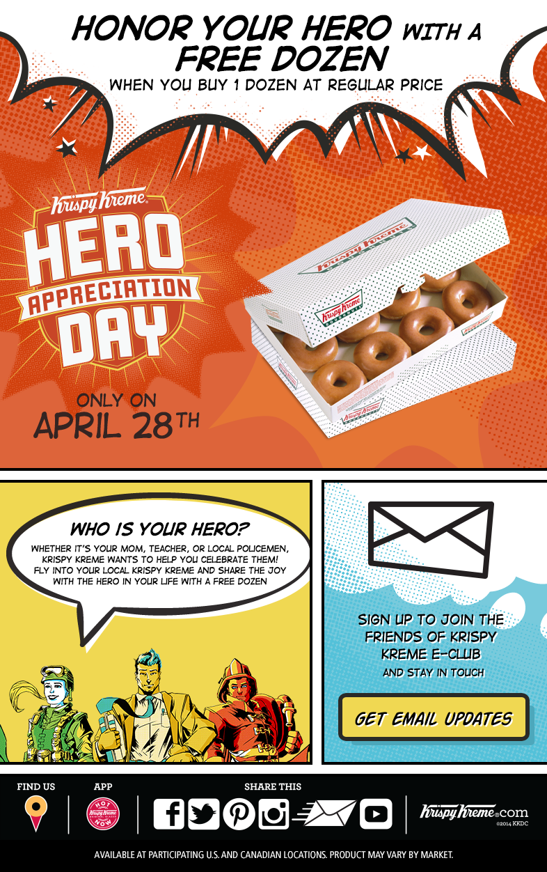 Hero Appreciate Day graphic