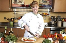 "<font face=""arial"" color=""#CF7829"">MAY 2014: FLAVORS OF PROVENCE </font><br /> With Chef Lynne Vea"