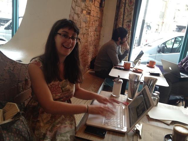 Gemma begins her writing odyssey