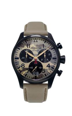 Alpina Pilot Quartz GMT AL-372MLY4FBS6