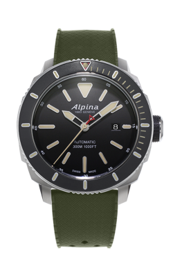 Alpina Seastrong Diver Automatic 300 Watch AL-525LGG4V6 product image