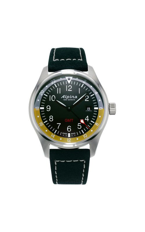 Alpina Pilot Quartz GMT AL-247BBG4S6