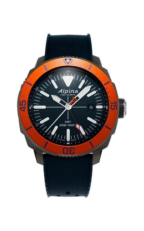 Alpina Driver Quartz GMT AL-247LNO4TV6