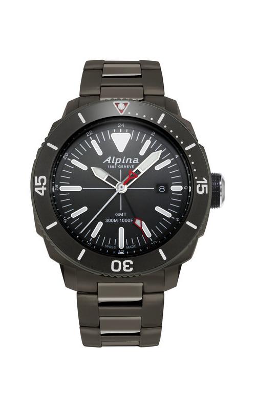 Alpina Driver Quartz GMT AL-247LGG4TV6B
