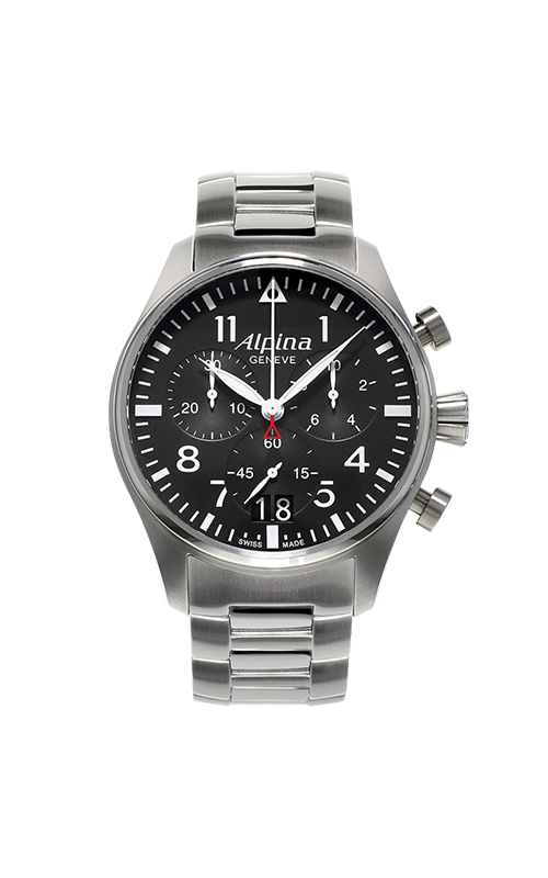Alpina Startimer Pilot Quartz Chronograph Watch AL-372B4S6B product image