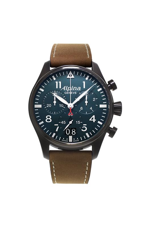 Alpina Startimer Pilot Quartz Chronograph Watch AL-372N4FBS6 product image