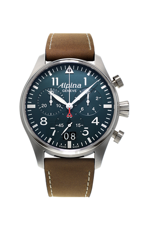 Alpina Startimer Pilot Quartz Chronograph Watch AL-372N4S6 product image