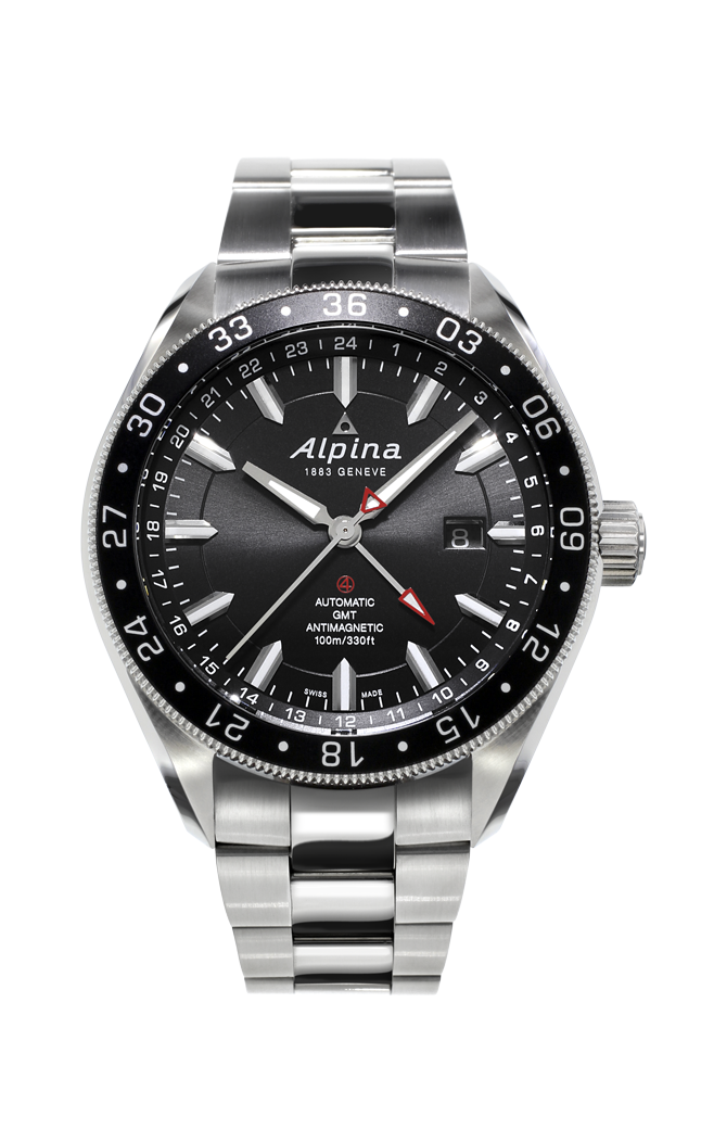 Alpina Alpiner 4 Automatic GMT Watch AL-550G5AQ6B product image