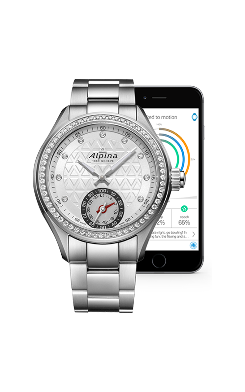 Alpina Horological Smart Watch AL-285STD3CD6B product image
