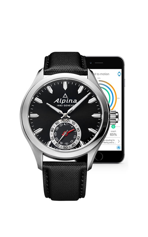 Alpina Horological Smart Watch AL-285BS5AQ6 product image
