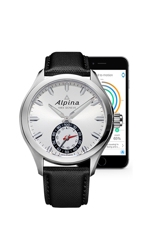 Alpina Horological Smart Watch AL-285S5AQ6 product image