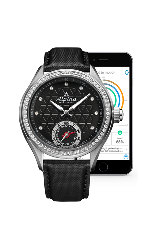 Alpina Horological Smart Watch AL-285BTD3CD6 product image