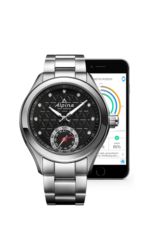 Alpina Horological Smart Watch AL-285BTD3C6B product image