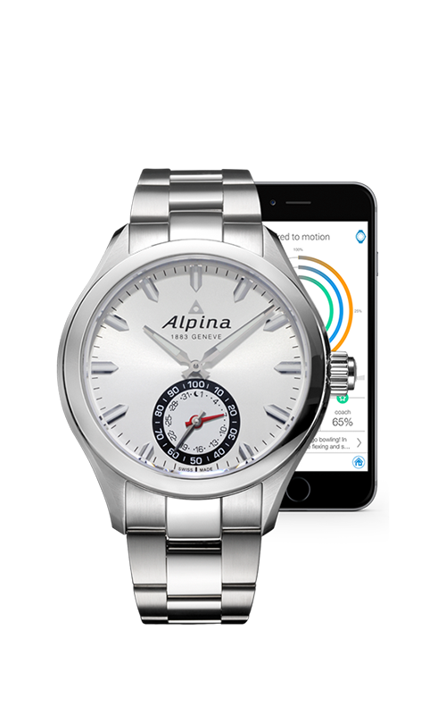 Alpina Horological Smart Watch AL-285S5AQ6B product image
