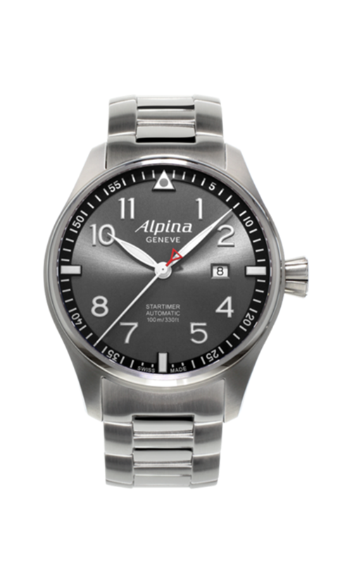 Alpina Startimer Pilot Sunstar 44mm Watch AL-525GB4S6B product image