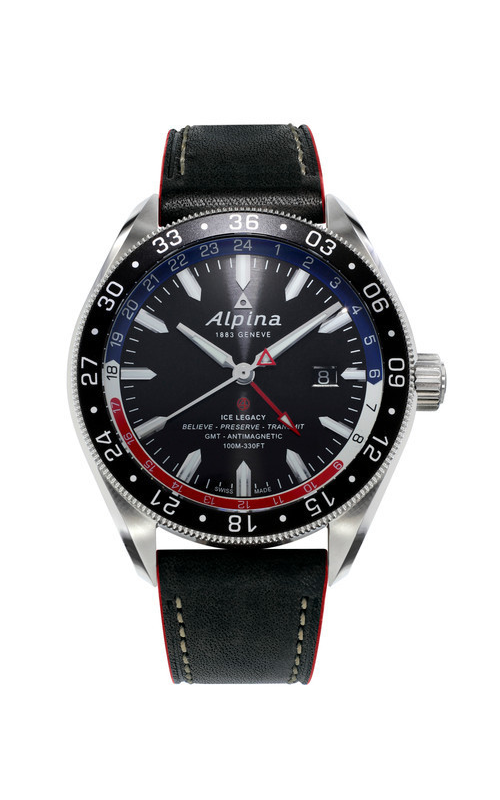 Alpina Alpiner 4 GMT Automatic Watch AL-550GRN5AQ6 product image