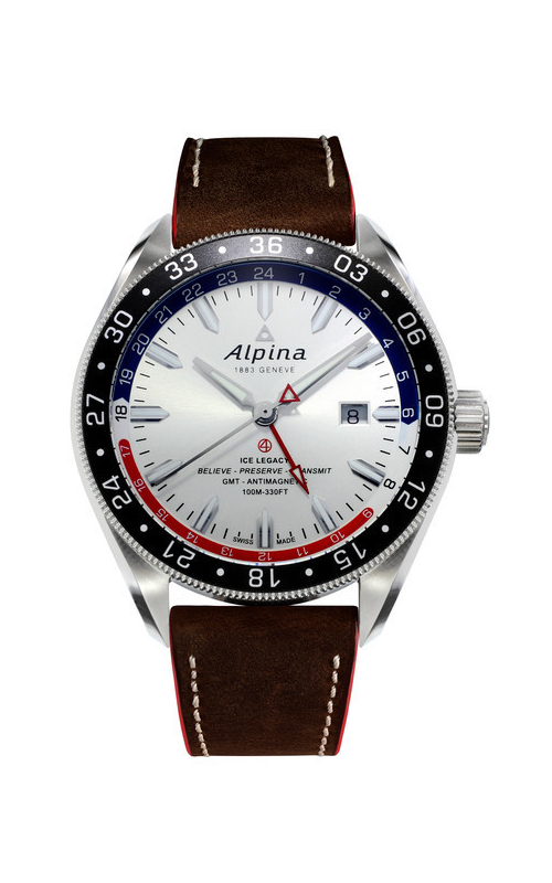 Alpina Alpiner 4 GMT Business Hours Watch AL-550SRN5AQ6 product image