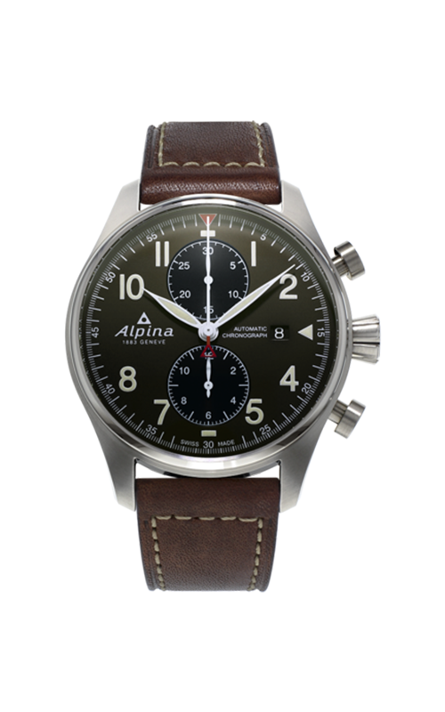 Alpina Startimer Pilot Chronograph Watch AL-725GR4S6 product image