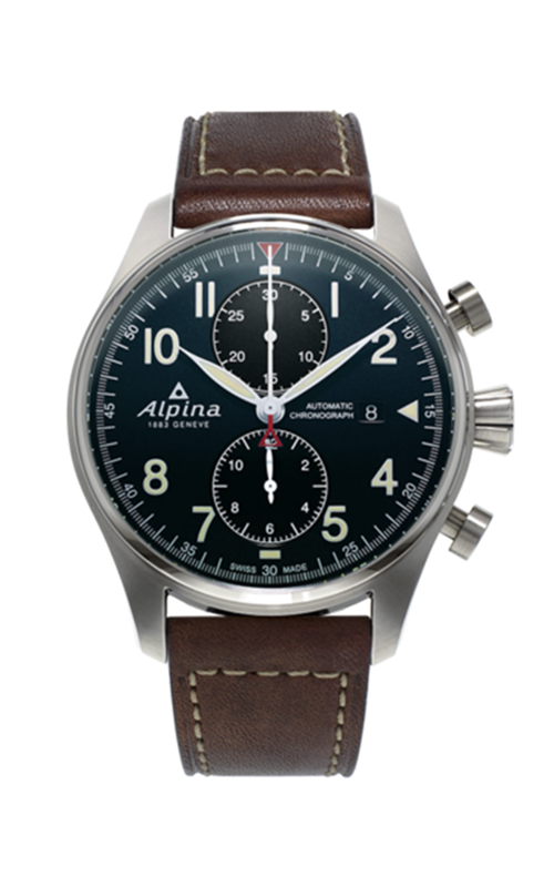 Alpina Startimer Pilot Automatic Chronograph Watch AL-725N4S6 product image