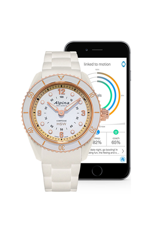 Alpina Horological Smartwatch Comtesse AL-281WY3V4 product image