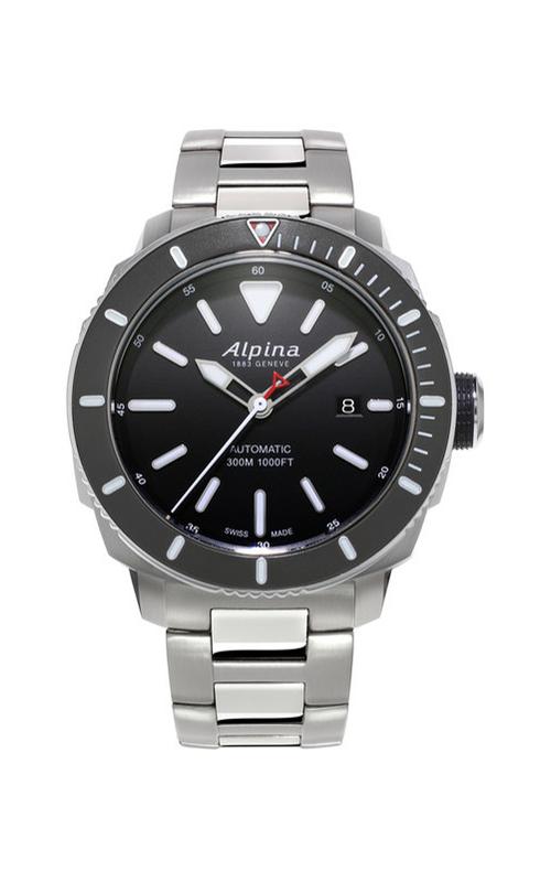 Alpina Seastrong Diver 300 Watch AL-525LBG4V6B product image