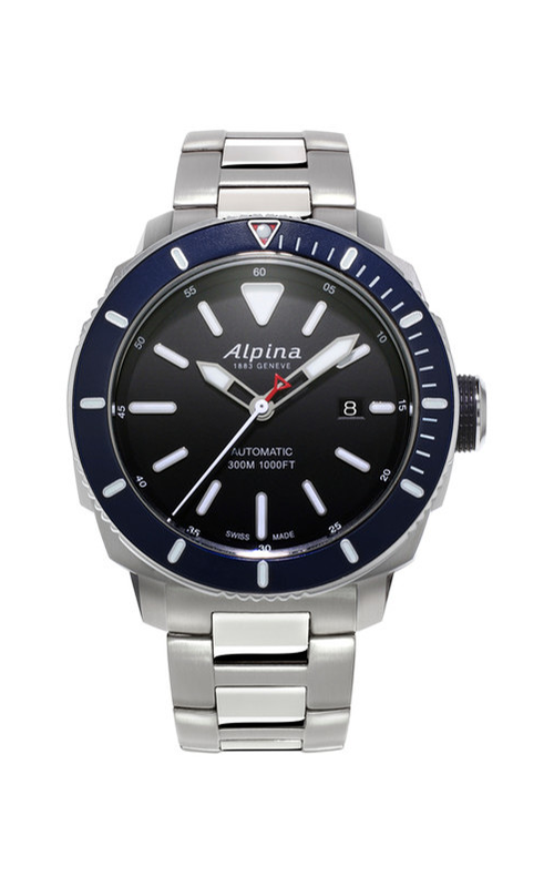 Alpina Seastrong Diver 300 Automatic Watch AL-525LBN4V6B product image