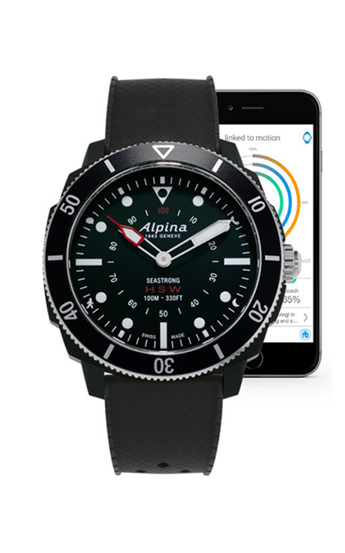Alpina Seastrong Horological Smartwatch AL-282LBB4V6 product image