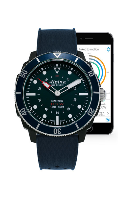 Alpina Seastrong Horological Smartwatch AL-282LNN4V6 product image