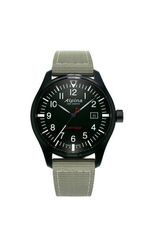 Alpina Startimer Pilot Quartz Watch AL-240B4FBS6 product image