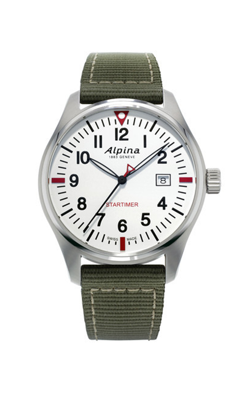 Alpina Startimer Pilot Quartz Watch AL-240S4S6 product image