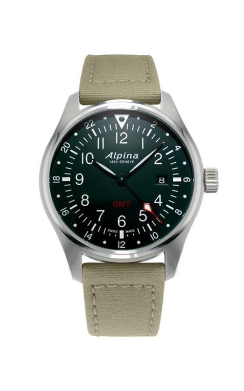 Alpina Startimer Pilot Quartz GMT Watch AL-247B4S6 product image