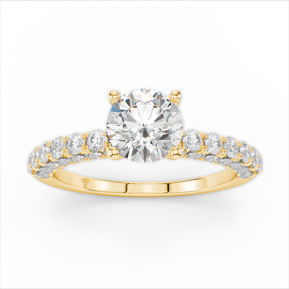 Amden Jewelry Seamless Collection Engagement Ring AJ-R9040 product image