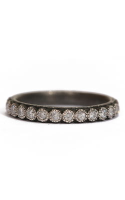 Armenta Blackened White Diamond Stack Ring 03079 product image