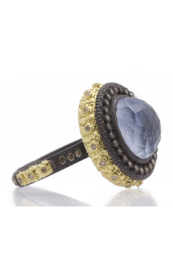 Armenta Carved Oval Stack Ring with Kyanite Doublet 07651 product image