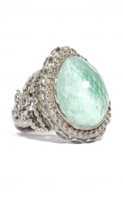 Armenta Green Turquoise Pear Ring 03928 product image