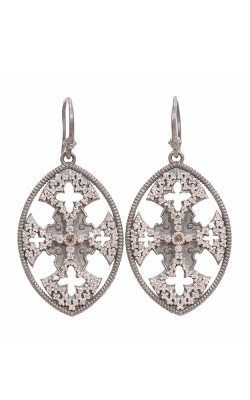 Armenta Maltese Cross Drop Earrings 02900 product image