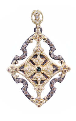 Armenta Open Cross Enhancer With Diamonds 03131 product image