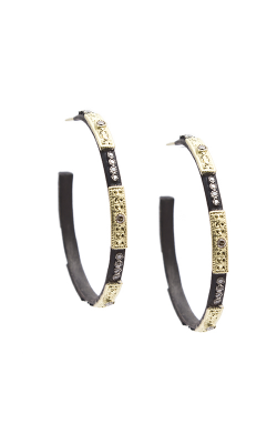 Armenta Skinny Square-Motif Hoop Earrings 08572 product image