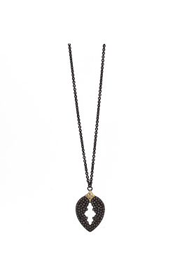 Armenta Pavé Pear Cut-out Drop Necklace 09442 product image