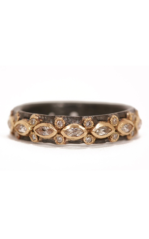 Armenta Lacy Marquis Eternity Sapphire Stack Ring 01690 product image