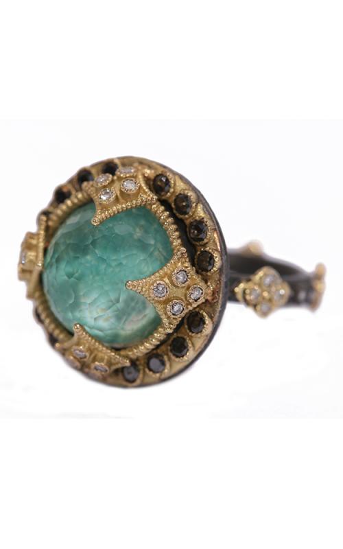 Armenta Green Turquoise Round Diamond Ring 02763 product image