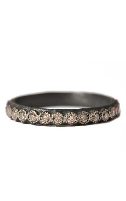 Armenta Blackened Champagne Diamond Stack Ring 03080 product image