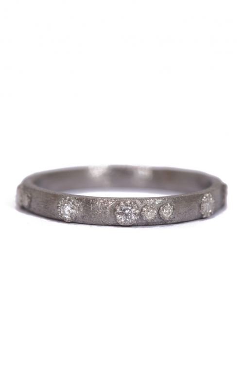 Armenta White Diamond Scattered Stack Ring 02780 product image