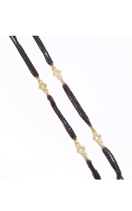 Armenta 3 Strand cable chain with open cravelli diamond stations 03148 product image