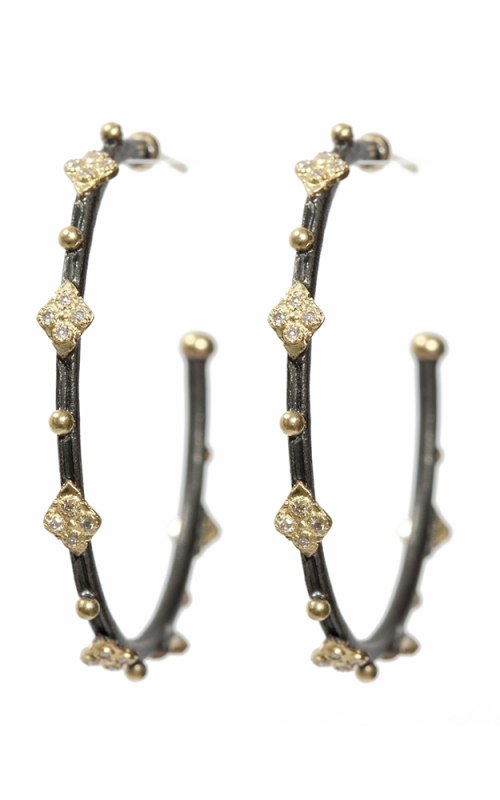 Armenta Cravelli Hoop Diamond Earrings - Medium 02129 product image
