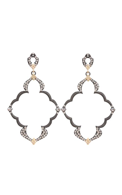 Armenta Dulcinea Open Wing Diamond Earrings 03040 product image