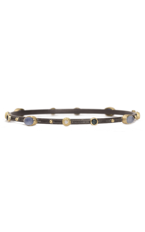 Armenta Oval Bangle Bracelet with Kyanite Doublet 07144 product image